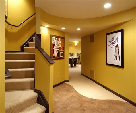 finished basement ideas with decorative style amaza design