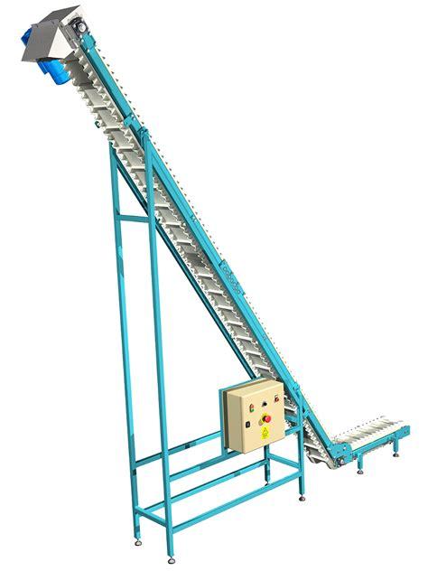 cleated belt conveyor design    cad project