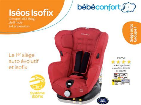 siege pivotant bebe confort bebe confort siège auto iséos isofix gr 1 achat vente