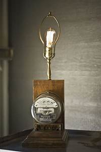 Electrical Meter Lamp By Twoartdirectors On Etsy