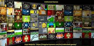 Play Hundreds Of Fun Unblocked Games Online