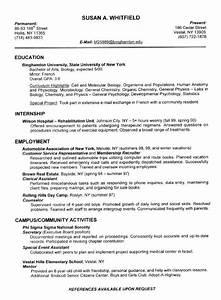 College Resume Builder 2018