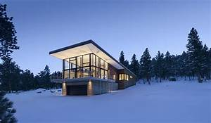 Contemporary Cabin In The Rocky Mountains