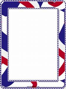 Pics For > Red White And Blue Borders With Corners