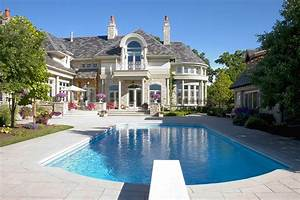Architecture: Stunning Mansions With Pools Which Can
