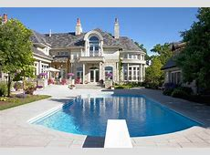 Architecture Stunning Mansions With Pools Which Can