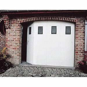 Porte De Garage Avec Portillon : porte de garage coulissante manuelle primo x ~ Melissatoandfro.com Idées de Décoration