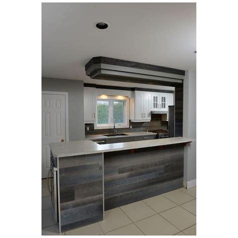 rona cuisine armoire planches murales style bois de grange rustik 8341017