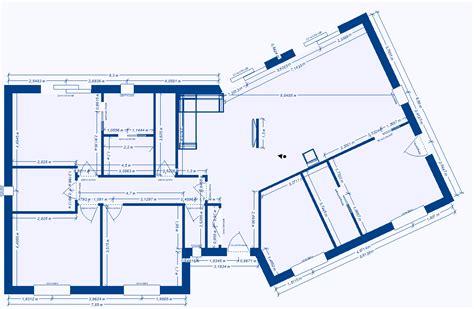 plan maison 2 chambres plan de maison plain pied 2 chambres