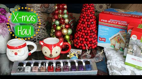 christmas decor pier  target holiday haul youtube