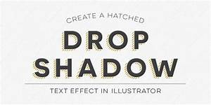 Create a Hatched Drop Shadow Text Effect in Illustrator ...
