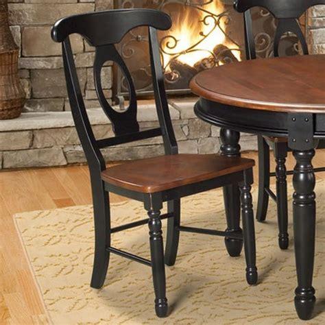 hamilton two tone napoleon dining side chair ruby gordon
