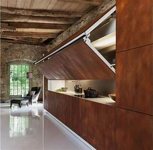 Modern Kitchen Design that Can be Hidden Designed by