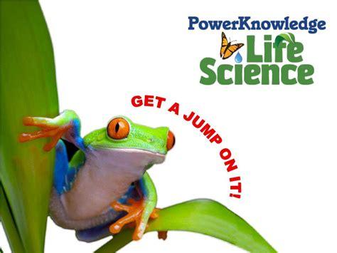 power knowledge life science animal adaptations