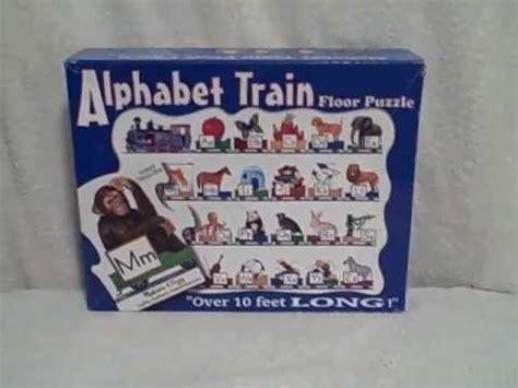 melissa and doug giant alphabet train floor jigsaw puzzle