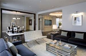 Contemporary family room decorating ideas home design inside for Home interior decoration llc