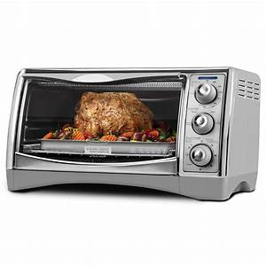 BLACK+DECKER CTO4500S Perfect Broil 6-Slice Convection ...