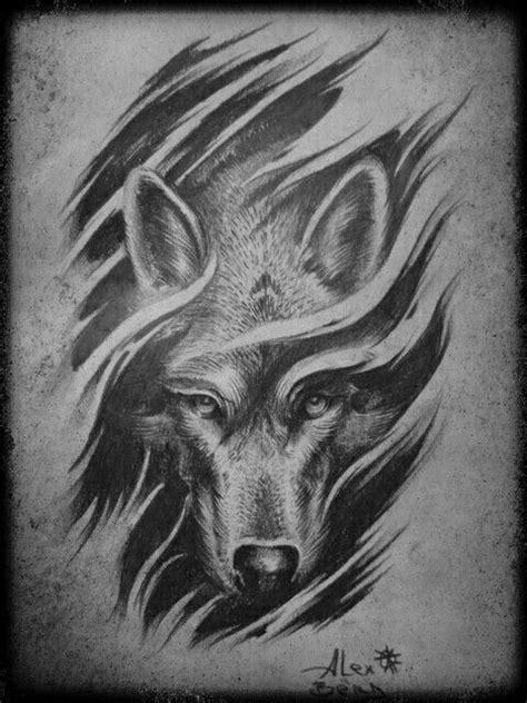 #WolfTattooIdeas | Wolf tattoos | Tattoos, Wolf tattoos, Tribal wolf tattoo