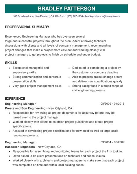 How To Make Best Cv by 15 Best Cv Exles Guaranteed To Get You Hired