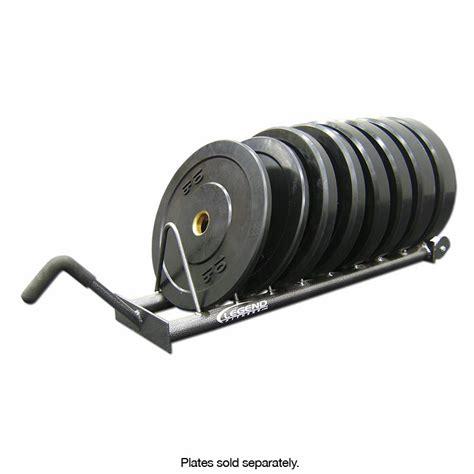 legend fitness horizontal bumper plate rack
