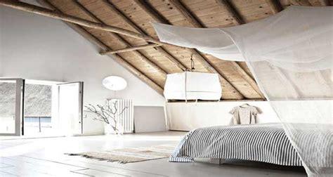 chambre sous toit 12 chambres sous combles qui donnent des idées déco