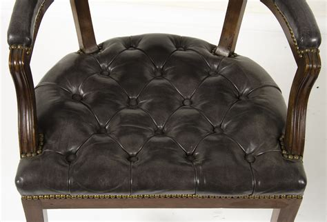 tufted leather chair canada tufted brown leather chair bar chair white tufted leather