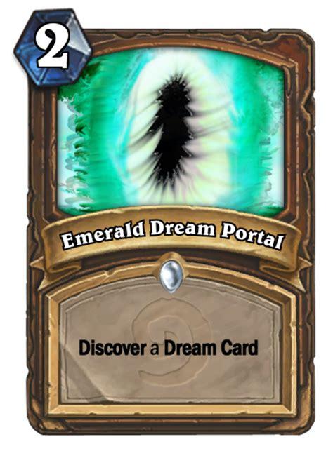ysera deck ungoro druid card emerald portal fan creations