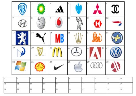 free printable logo quiz search engine at