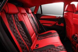 crazy interior for bmw x6 from topcar autoevolution With red car interior ideas