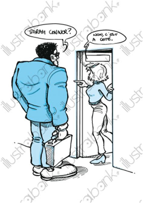 frapper a la porte connord illustration autre libre de droit sur illustrabank