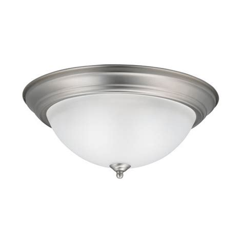 kk8116ni builder flush mount ceiling light brushed