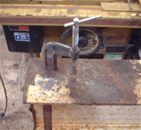 homemade grinding station homemadetoolsnet