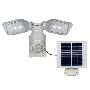 Utilitech pro degree head white solar powered