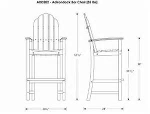 bar height adirondack chair plans search benches and tables chairs