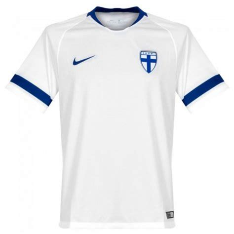 finland home nike football shirt   uksoccershop