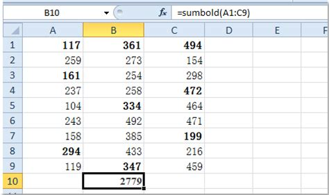 how to bold certain words in excel 34 microsoft word