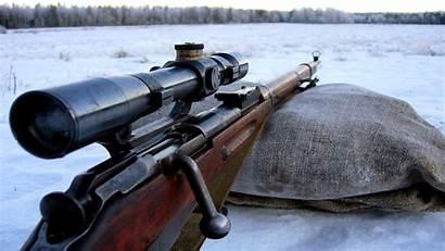 Sniper Rifle Gun Action Bolt Marksman Mosin