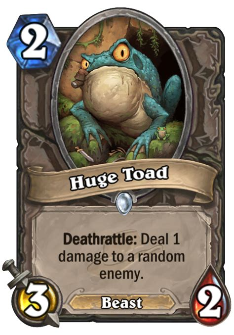 Hearthstone Beast Deck by Toad Hearthstone Card