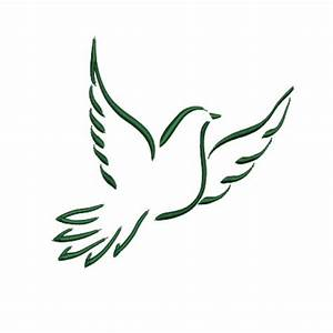 Flying Dove Embroidery Design | birds | Pinterest ...