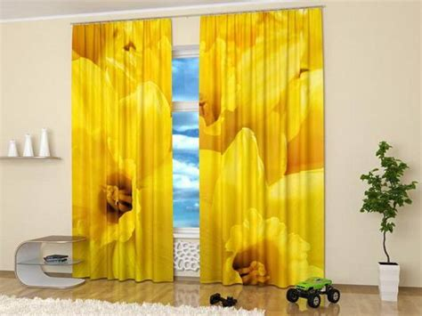 window curtains  colorful art prints  beautiful