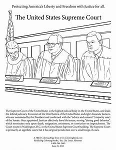 draw supreme court Colouring Pages