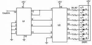 7 segment led counter electronic circuit diagram circuit With led counter circuit