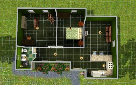 simple starter home   sim sims house plans sims house sims house design