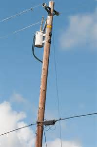 Electric Wooden Utility Poles