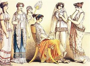 Ancient Greek Clothing | You see how the women were ...