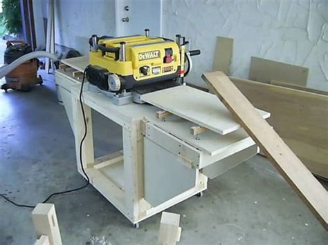 thickness planer table  images learn woodworking
