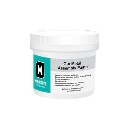 Dow Corning Molykote Gn Metal Assembly Paste Gray 500 G Jar
