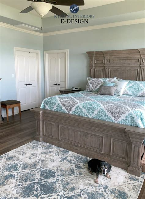 sherwin williams silver strand master bedroom  wood