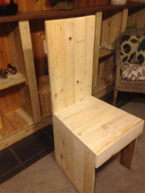 pallet kitchen chair dining chair pallet furniture plans