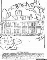 Coloring Plantation Colouring Magnolia Sheets Louisiana Plantations Adults Printable Realistic Templates Dailycoloringpages Visit sketch template